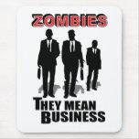 Los zombis significan negocio alfombrillas de raton