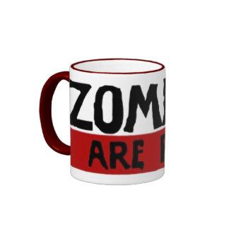 Los zombis son reales tazas
