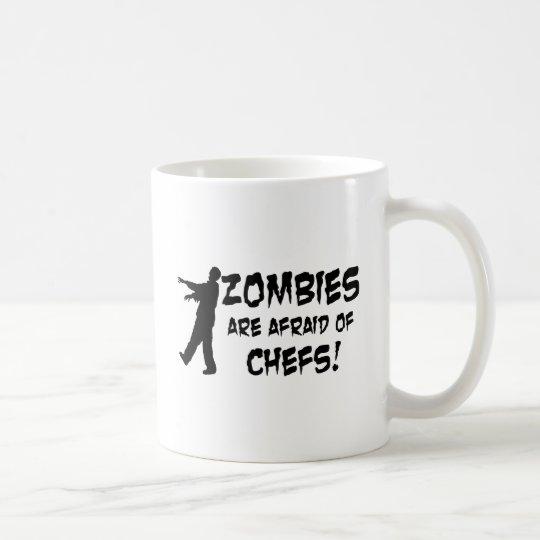 Los zombis tienen miedo de cocineros taza de café