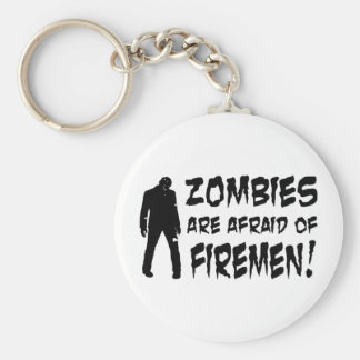 Los zombis tienen miedo de los regalos de los bomb llavero redondo tipo pin