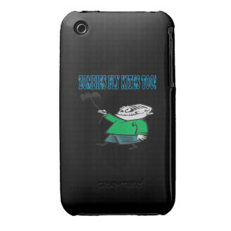 Los zombis vuelan cometas también iPhone 3 protector