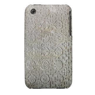 Losa bizantina con la decoración cruciforme, funda bareyly there para iPhone 3 de Case-Mate