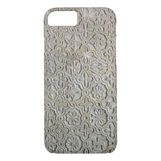 Losa bizantina con la decoración cruciforme, funda iPhone 7
