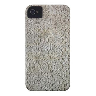 Losa bizantina con la decoración cruciforme, funda para iPhone 4
