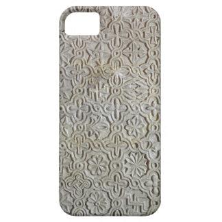 Losa bizantina con la decoración cruciforme, funda para iPhone SE/5/5s