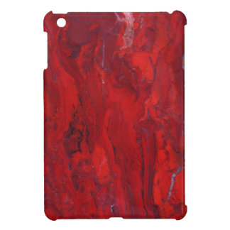 Losa de mármol remolinada roja