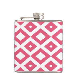 Losango Pink Canteen Hip Flask