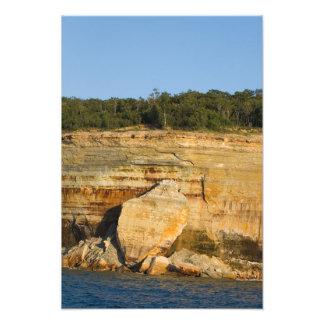 Losas de la roca, nacional representado de las roc impresión fotográfica