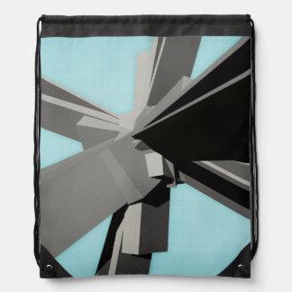 Losas rectangulares abstractas mochilas