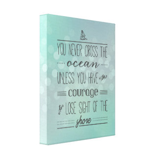 Lose Sight of the Shore | Typography Art Print