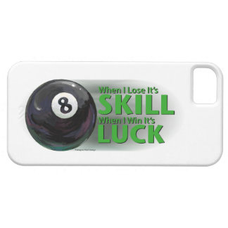 Lose Skill Win Luck 8 Ball iPhone SE/5/5s Case