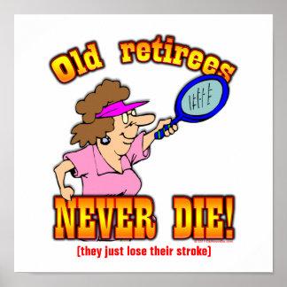 Lose Stroke Poster