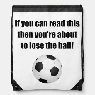 Lose The Ball Drawstring Bag