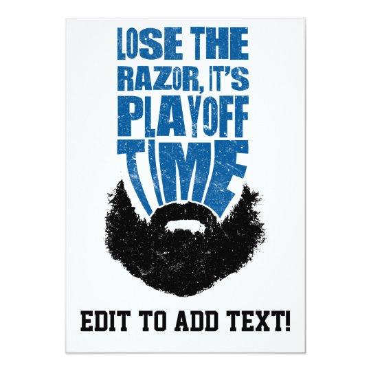Lose The Razor, Hockey Playoff Beard Card