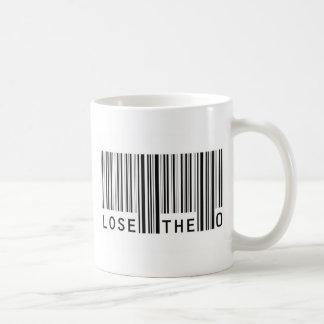 Lose The Zero Classic White Coffee Mug