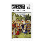 Lose their Heads Queen of Hearts Postage Stamps