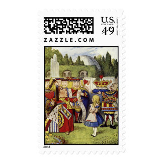 Lose their Heads Queen of Hearts Stamps