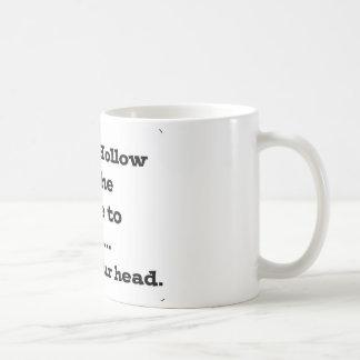Lose your head in sleepy hollow coffee mug