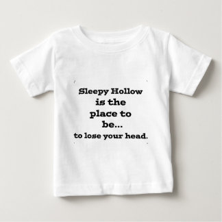 Lose your head in sleepy hollow infant t-shirt