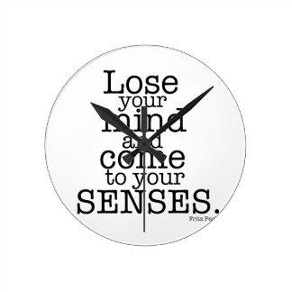 Lose your mind... clocks