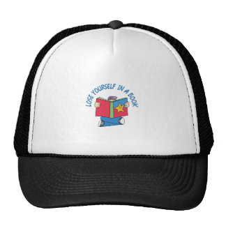 LOSE YOURSELF IN A BOOK TRUCKER HAT