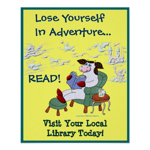Lose Yourself In Adventure...READ! Print