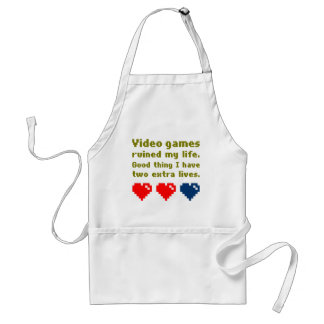 loser adult apron