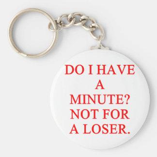LOSER insult Keychains