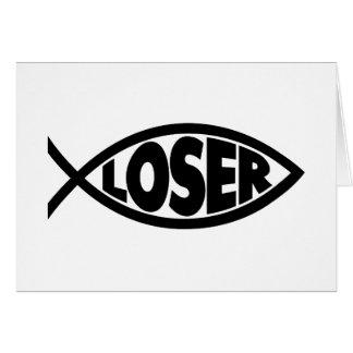 Loser Jesus Card