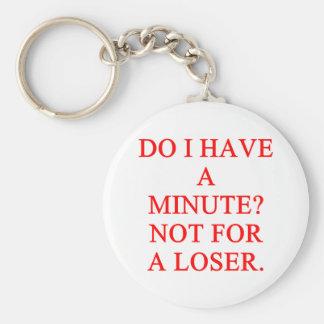 LOSER joke Key Chain