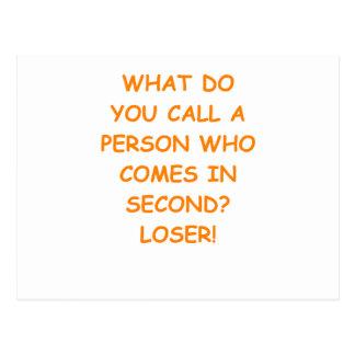 loser postcard