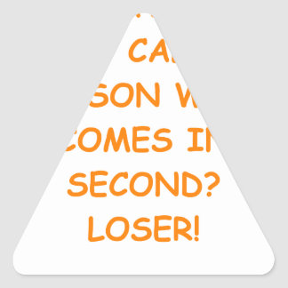 LOSER TRIANGLE STICKER