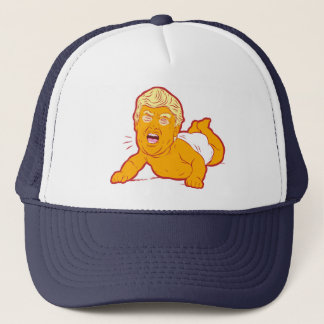 Loser Trump Trucker Hat: TRUMP CRY-BABY Trucker Hat