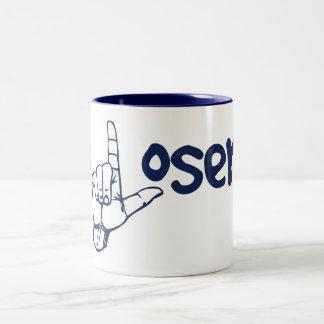 Loser Two-Tone Coffee Mug
