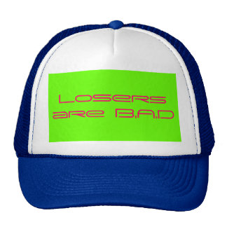 Losers are B.A.D Cap Trucker Hat