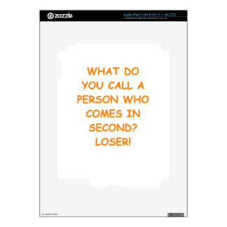 losers decals for iPad 3