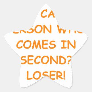 losers star sticker