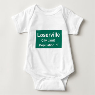 Loserville City Limit Baby Bodysuit