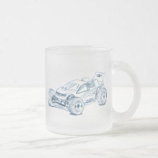 losi Micro T Frosted Glass Coffee Mug