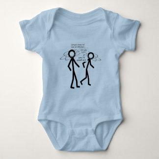 Losing An Electron joke - infant creeper