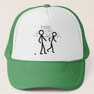Losing An Electron joke - trucker's hat