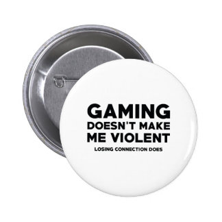 Losing Connection Pinback Button