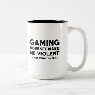 Losing Connection Two-Tone Coffee Mug