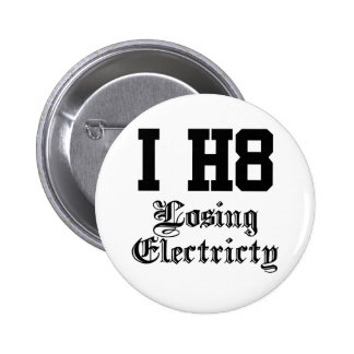 losing electricity buttons
