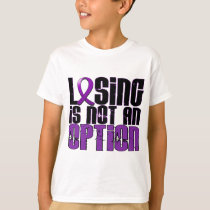 Losing Is Not An Option Alzheimer's Disease T-Shirt