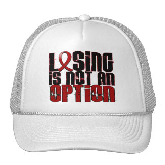 Losing Is Not An Option Amyloidosis Trucker Hat