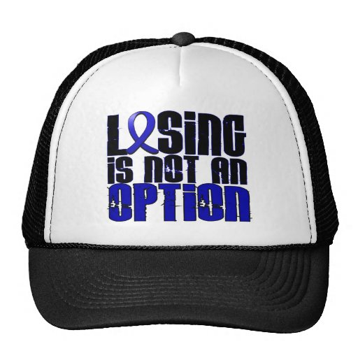 Losing Is Not An Option Ankylosing Spondylitis Hats