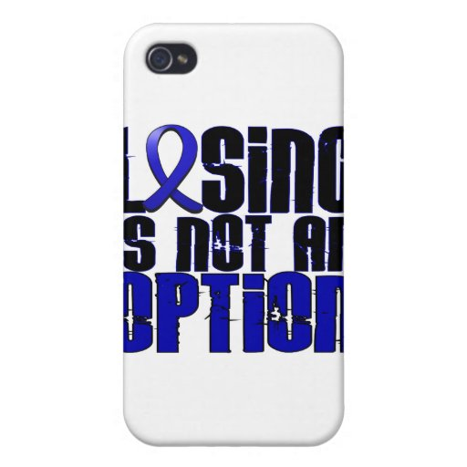 Losing Is Not An Option Ankylosing Spondylitis iPhone 4/4S Cases