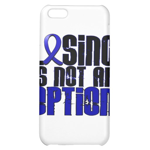 Losing Is Not An Option Ankylosing Spondylitis Cover For iPhone 5C