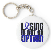 Losing Is Not An Option Ankylosing Spondylitis Keychain